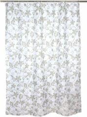 TORO Sprchový záves, 180x180 cm, Lístky