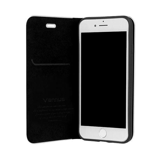 Havana Premium torbica za Samsung Galaxy A10 A105, preklopna, karbon, crna