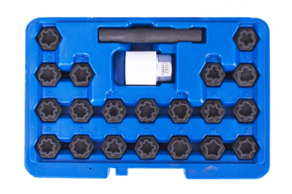 AHProfi Sada 22 ks klíčů na kola pro vozy VAG - TJ1323 | AHProfi