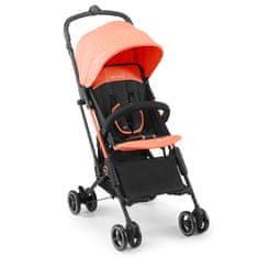 KinderKraft Mini Dot otroški voziček, oranžen