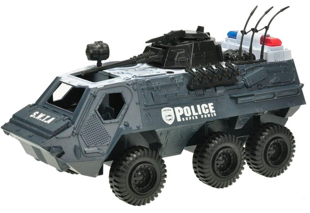 Mikro hračky Auto transportér policejní 32 cm