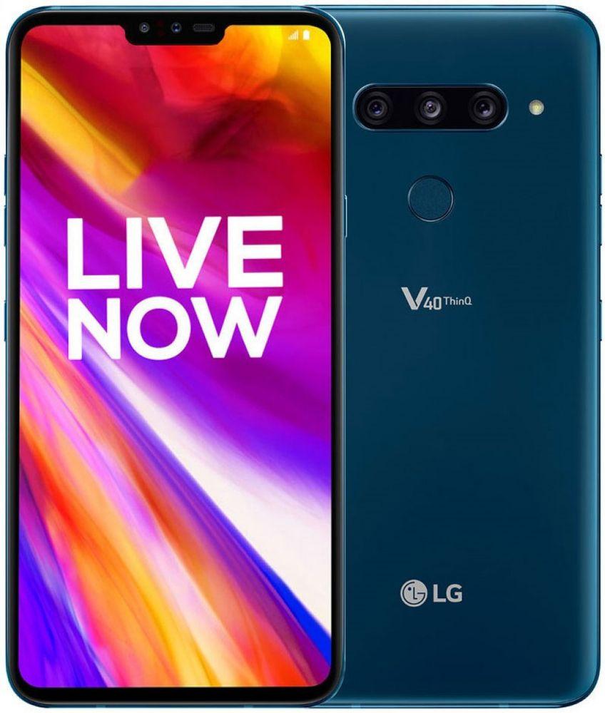 LG V40 ThinQ, 6GB/128GB, Moroccan Blue
