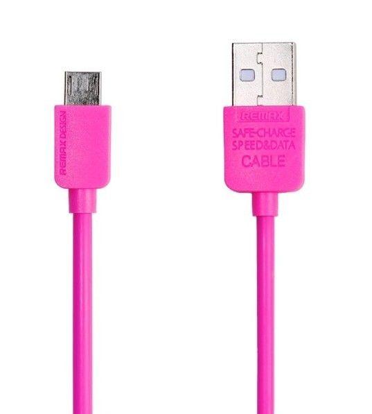REMAX AA-1107 Micro USB CABLE růžové
