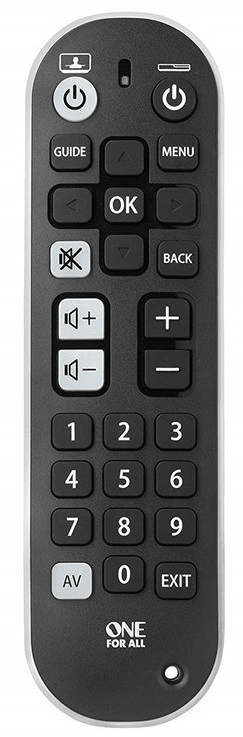 One For All URC6820 URC6820 Works up to 3 devices (TV, STB and Audio). with di