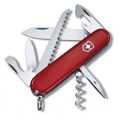 Victorinox 1.3613 Swiss Army knife CAMPER, red