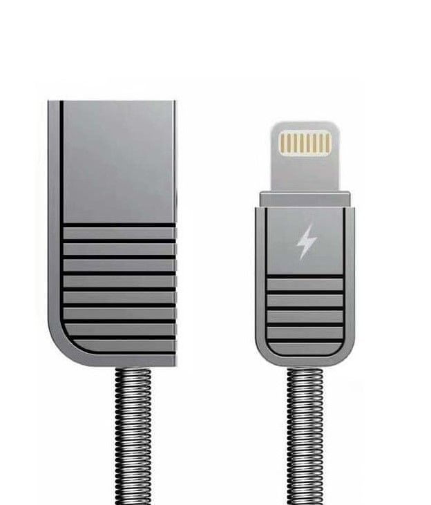 REMAX AA-7086 RC-088i / datový Ábel na iPhonu 5,6,7, SE Silver