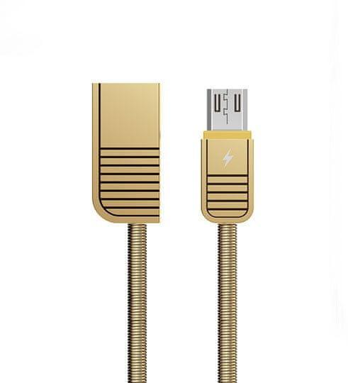 REMAX AA-7032 RC-088m Linyi datový kabel micro USB GOLD