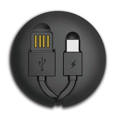 REMAX AA-1290 RC-099a, data kabel USB-C, černý
