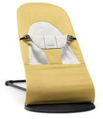 Babybjörn BB ležalnik Soft Cotton/Jersey, rumeno siv
