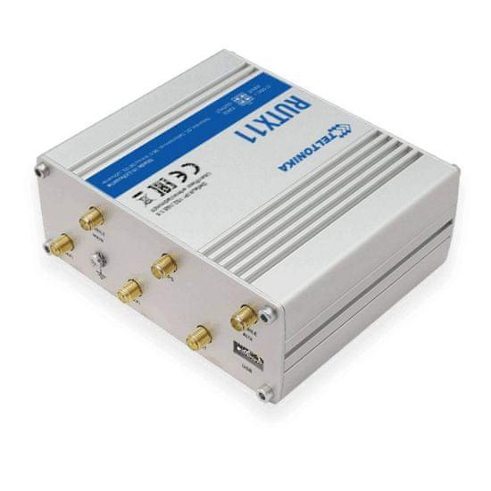Teltonika RUTX11 usmerjevalnik, 4G (LTE), dual sim - Odprta embalaža