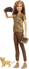 Mattel Barbie National Geographic fotoreporterka