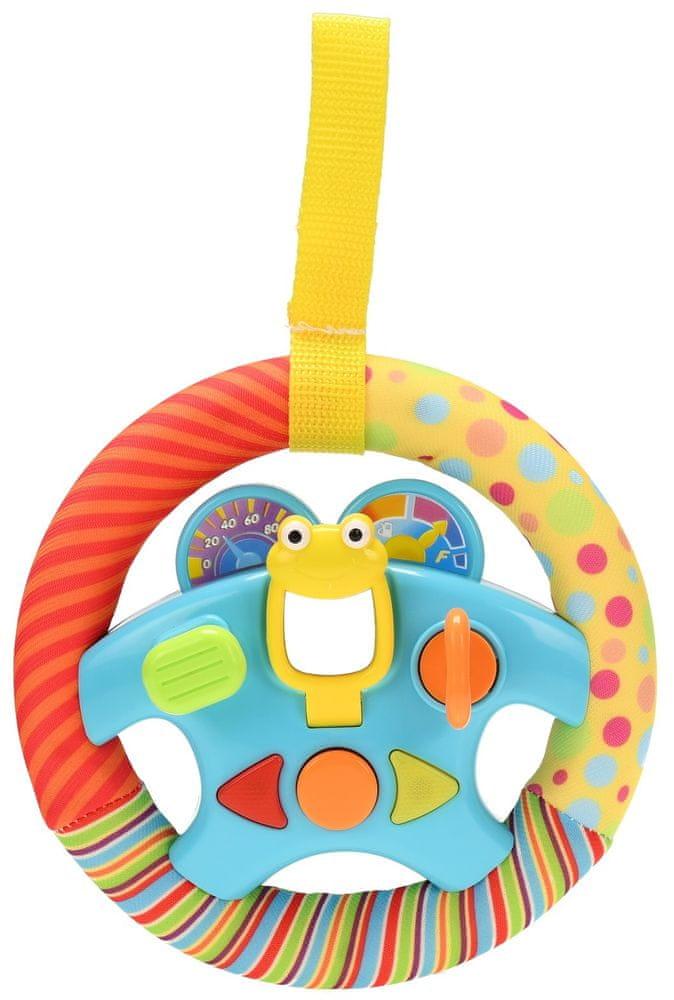 Mikro hračky Volant 16 cm dětský na baterie se světlem a zvukem