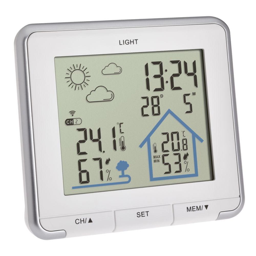 TFA Domácí meteostanice s předpovědí počasí TFA 35.1153.02 LIFE – bílá