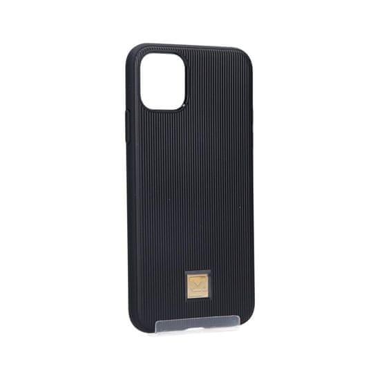 Spigen La Manon Classy zaščitni ovitek za iPhone 11 Pro Max, TPU, črn