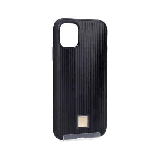 Spigen La Manon Classy zaščitni ovitek za iPhone 11 Pro, TPU, črn