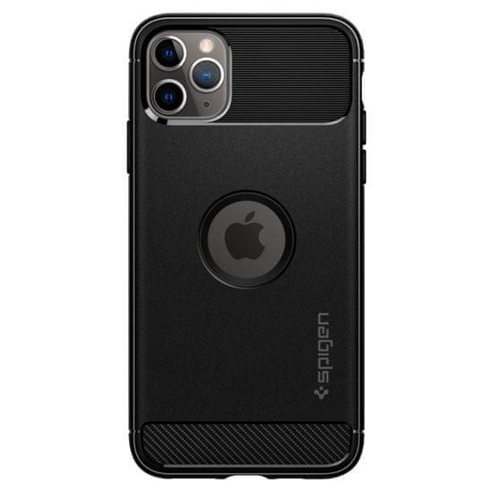 Spigen Ochranný kryt Rugged Armor pro Apple iPhone 11 Pro, černý 077CS27231