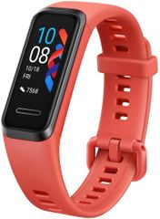 Huawei Band 4 pametna zapestnica, rdeča