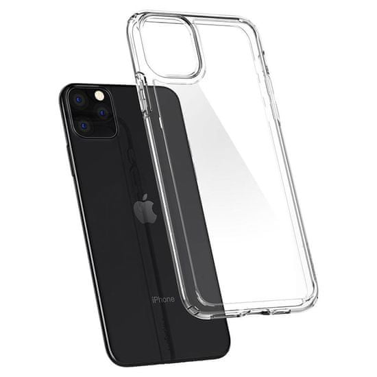 Spigen Ultra Hybrid zaščitni ovitek za iPhone 11 Pro Max, prozoren