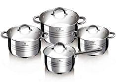 Blaumann Sada nádobí nerez 8 ks Gourmet line