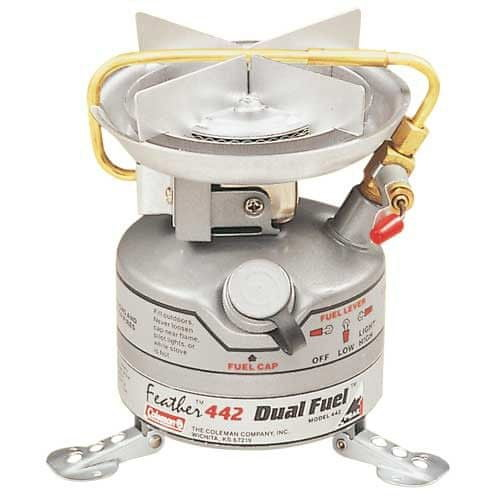 Campingaz Vařič UNLEADED FEATHER STOVE (685 g/2500 W, bezolovnatý benzín)