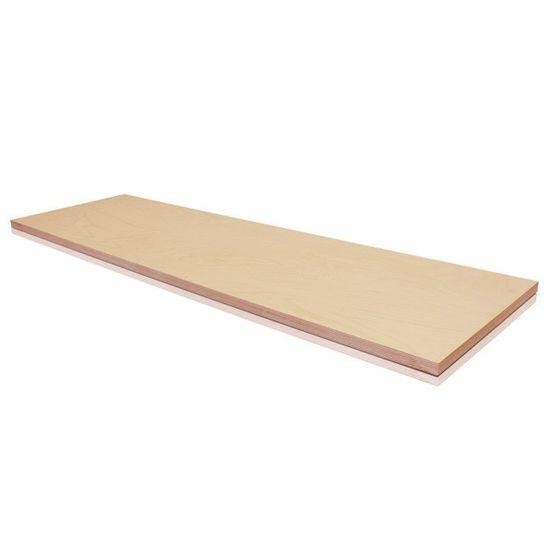 Erba Pracovní deska dílenského stolu 200 x 60 cm buk