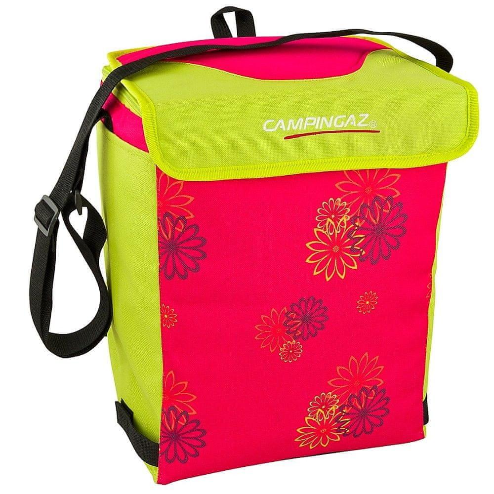 Campingaz Chladicí taška MINIMAXI 19L Pink daisy (chladicí účinek 12 hodin)