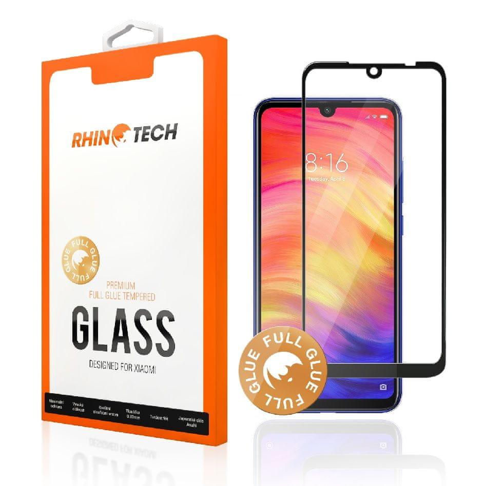 RhinoTech 2 Tvrzené ochranné 2.5D sklo pro Xiaomi Pocophone F1 (Full Glue) Black, RTX044