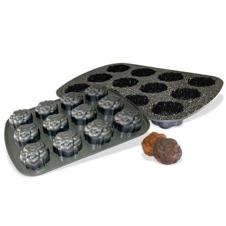 Stoneline Forma na muffiny s mramorovým povrchem 12ks