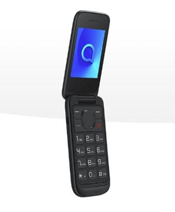 Alcatel 2053D mobilni telefon, DualSIM, črn