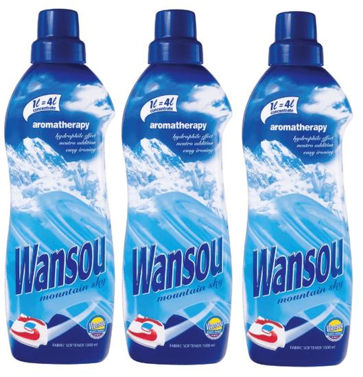 Wansou Wansou 3 x 1 liter aviváž Moutain Sky