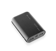 CellularLine PowerTank 10000 prenosna baterija, USB-C, črna