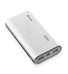 CellularLine PowerTank 20000 prenosna baterija, USB-C, bela