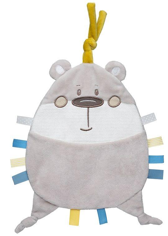 Canpol babies Plyšový mazlíček Pastel Friends šedý medvídek