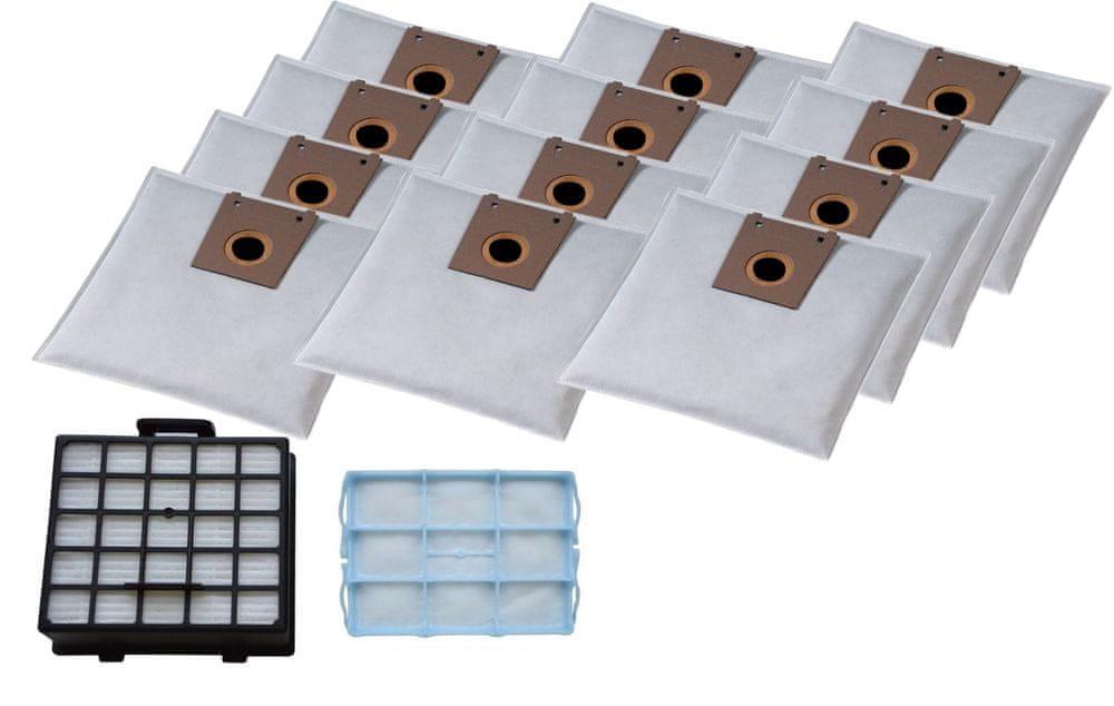 KOMA Sada příslušenství pro vysavače BOSCH Typ G, Siemens, 12ks sáčků, 1ks HEPA filtr a 1ks motorový filtr