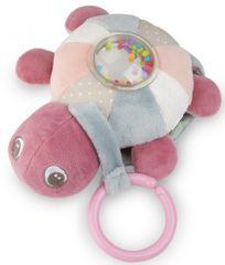 Canpol babies Plyšová svítící a hrající želva Sea Turle růžová