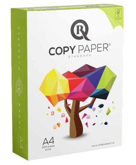 Radeče papir Muflon R-Copy fotokopirni papir, A4, 80 g