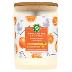 Air wick Essential Oils sviečka - Pomaranč & Vonná tyčinka 185 g