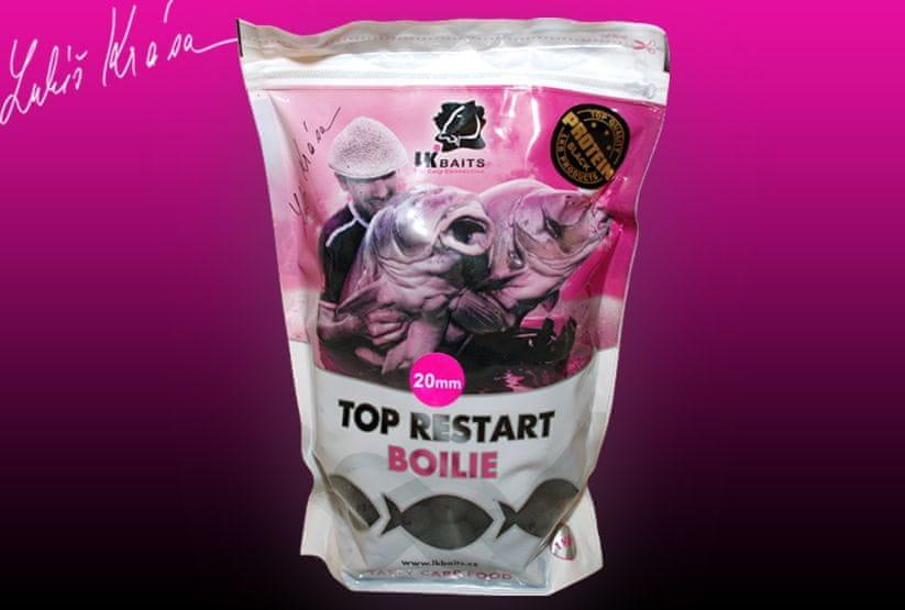 Lk Baits Top ReStart Black Protein 1kg velikost: 20mm