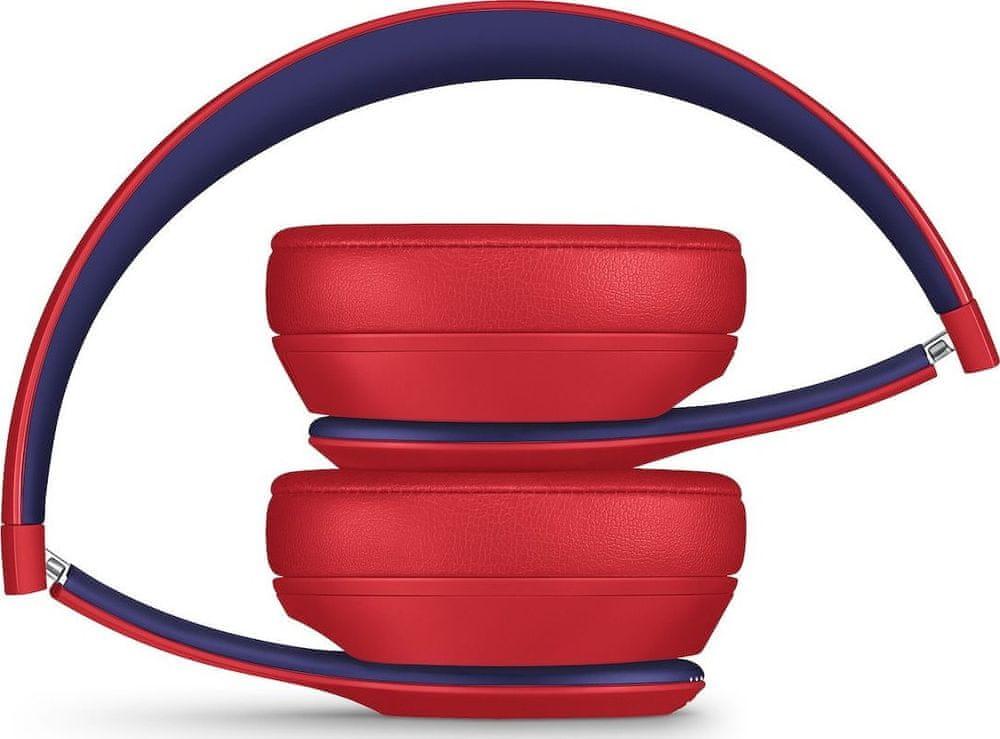 Beats Solo3 Wireless bezdrátová sluchátka, červená/modrá - rozbaleno