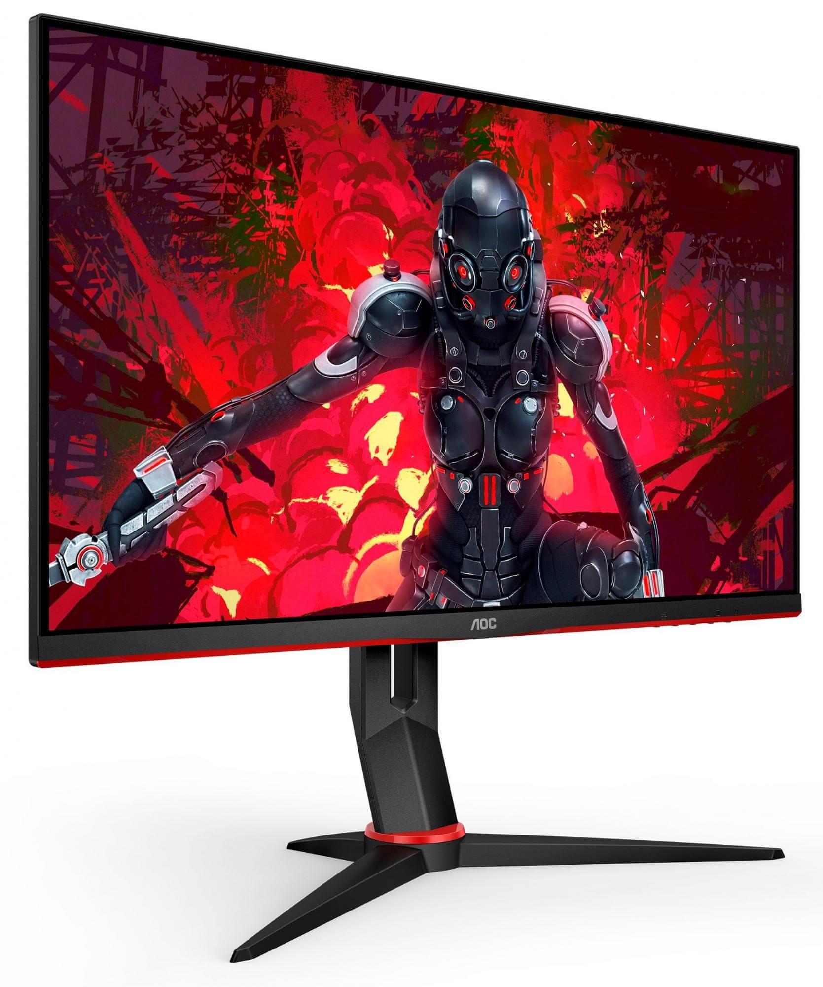 Igralni monitor AOC (24G2U5 (24G2U5/BK) Odziv brez okvirja 1ms