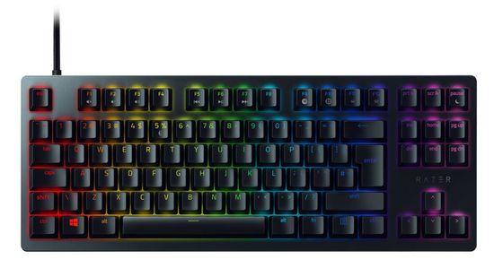 Razer Huntsman Tournament Edition tipkovnica, linear optical, mehanska, RGB, gaming, us slo