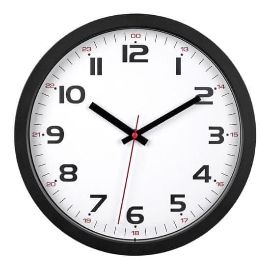 TFA Nástenné hodiny TFA 60.3050.01 - čierne