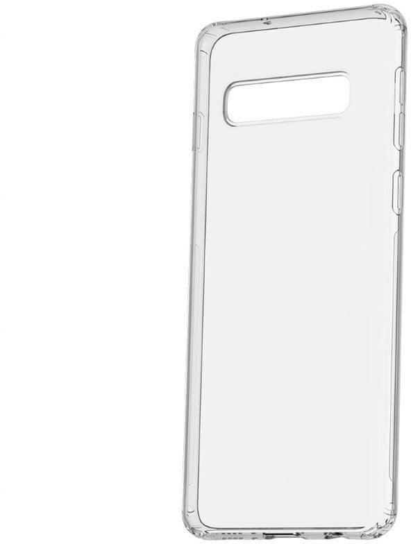 BASEUS Simple Series gelový ochranný kryt pro Samsung S10, čirý, ARSAS10-02
