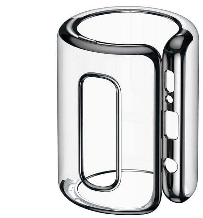 BASEUS Shining Series gelový ochranný kryt pro Samsung S10+, černý, ARSAS10P-MD01