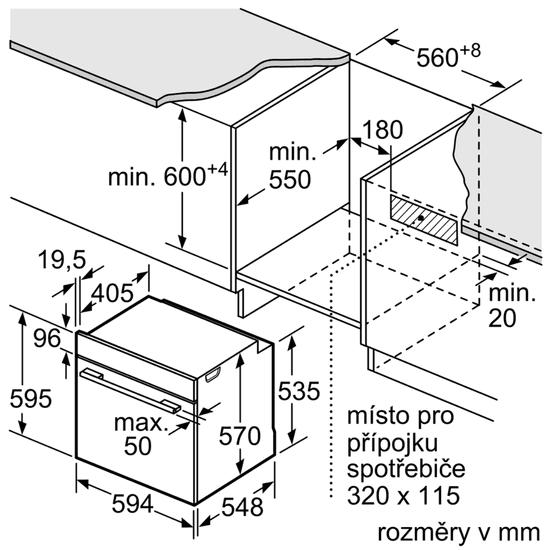 Bosch piekarnik HRG5184S1