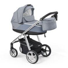 Espiro Next Silver otroški voziček 302 charm