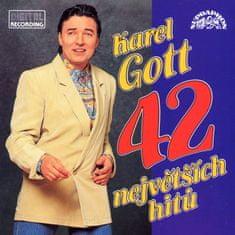Gott Karel: 42 největších hitů (2x CD) - CD