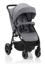 Britax Römer otroški voziček B-Agile M Elephant Grey 2021, siv - Odprta embalaža