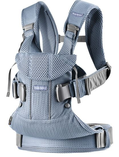 Babybjörn BB ergonomska nosilka One Air, Slate Blue, 3D Mesh