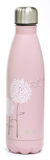 Domy termo steklenica, roza, 500 ml